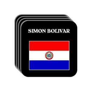 Paraguay   SIMON BOLIVAR Set of 4 Mini Mousepad Coasters