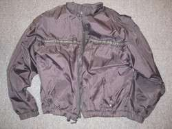 Harley Davidson Black Nylon Riding Jacket Sz M Womens