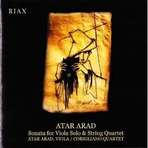 Sonata for Viola Solo & String Quartet Atar Arad Music