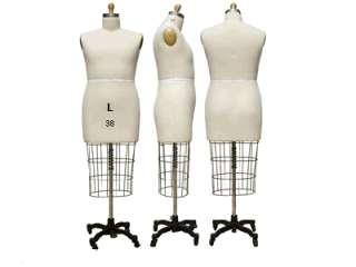 Professional Dress Form, Full Body Dress Form, Size 6