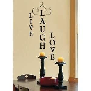 Wall Wisdom Live Laugh Love