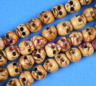 108 YAK BONE SKULL BUDDHA BEADS BUNCH