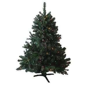 Sierra Fir Artificial Christmas Tree   Multi Lights