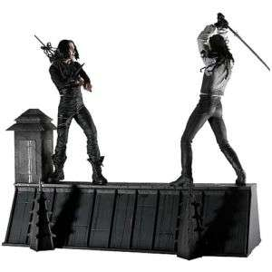 NECA THE CROW ROOF TOP BOX SET 7 ACTION FIGURES NEW