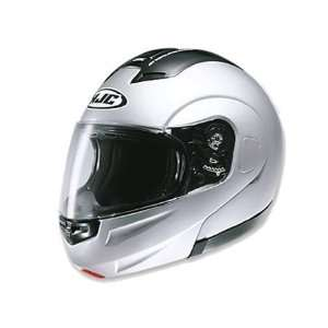 HJC Sy Max Full Face Modular Helmet Medium  Silver