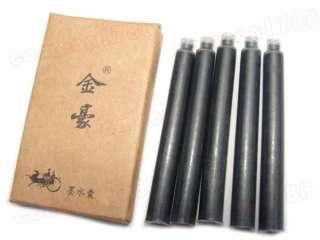 AA08 25 PCS JINHAO 2.8INCH LENGTH FOUNTAIN PEN BLACK CARTRIDGE