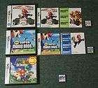New Super Mario Bros + Mario 64 DS + Mario Kart DS (Nintendo DS LOT)