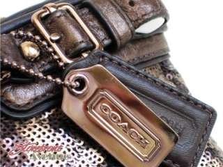 Madison Ocelot Bronze Sequins Mini Sophia Cross body Handbag 18638