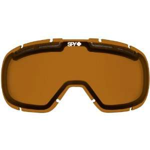 Lens Snocross Snowmobile Eyewear Accessories   Bronze / One Size