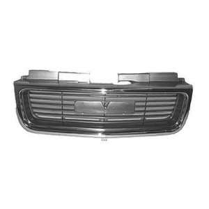 GMC TRUCK S15 JIMMY/ENVOY Grille assy Jimmy; SLE/SLT; bright & argent