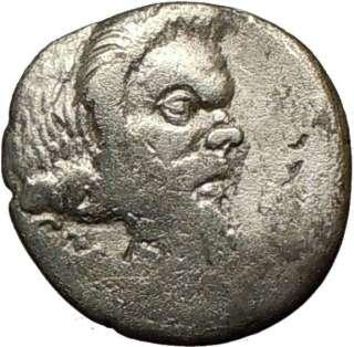 Roman Republic JULIUS CAESAR Assassin BRUTUS 48BC Genuine Ancient