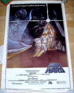 STAR WARS STYLE A 1 SHEET, 1980s FULL SIZE COPY