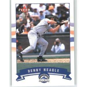 2002 Fleer Gold Backs #361 Denny Neagle   Colorado Rockies