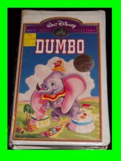 DISNEY DUMBO Masterpiece VHS NEW 012257024036