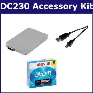 Canon DC230 Camcorder Accessory Kit includes T39918 Tape