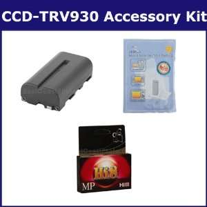 Sony CCD TRV930 Camcorder Accessory Kit includes HI8TAPE Tape