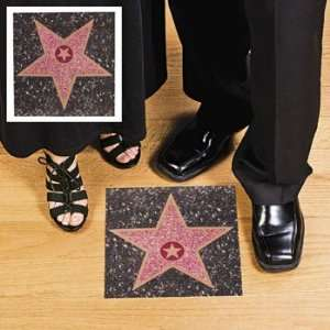Hollywood Walk of Fame Peel n Place Star Wall Cling