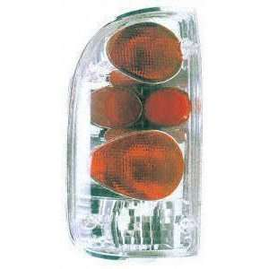95 00 TOYOTA TACOMA ALTEZZA CRYSTAL CLEAR TAIL LIGHT TRUCK