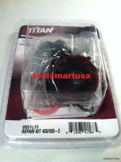 0551533 Titan Spraytech Fluid Section PUMP Repair Kit 2155EPX 2255EPX