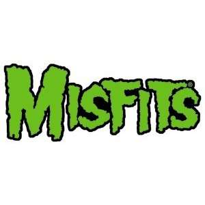 THE MISFITS GREEN LOGO EMBROIDERED PATCH:  Home & Kitchen