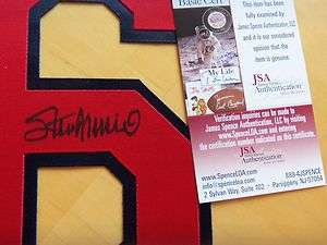 STAN MUSIAL Signed St. Louis Cardinals Jersey #6  JSA Authenticated