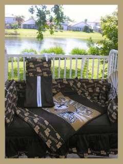 New Orleans Saints Crib Bedding Set
