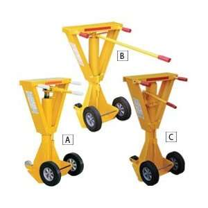 VESTIL Beam Top Trailer Stabilizing Jacks   Yellow