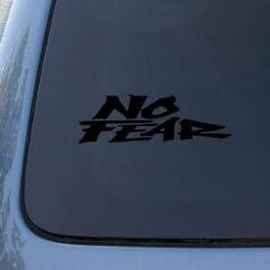NO FEAR   Vinyl Car Decal Sticker #1914  Vinyl Color