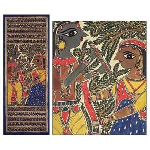 Listen to the Music: Lord Krishna and Radha Home & Kitchen