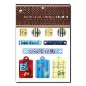 Epoxy Stickers, Missionary, Elder, Celestial Scrap Studio