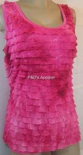 New Lane Bryant Womens Plus Size Clothing Pink Tank Top Shirt Blouse
