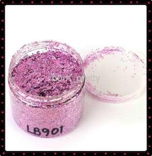 500ml Purple Acrylic Glitter Powder Nail Art Wholesale