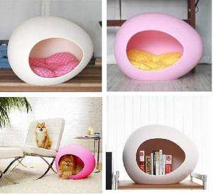 Egg Shaped Pet Dog & Cat House Bed for SUMMER + Free Birds GIFTS DECOR