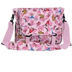 Wildkin Pink Ballerina Messenger Bag LARGE Baby