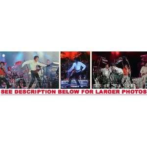 MICHAEL JACKSON VICTORY TOUR DANCE (3) RARE 8x10 FINE ART