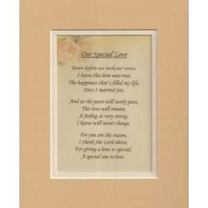 Our Special Love   Poetry Gift: Home & Kitchen