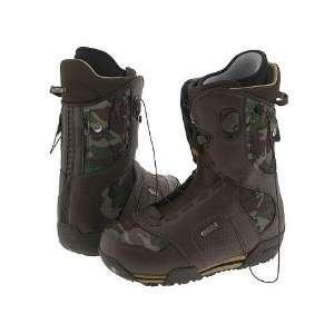 Burton Ruler Mens Brown/Camo Snowboard Boot Sports