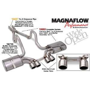 com Magnaflow Tru X Stainless Steel Crossover Pipes   97 04 Chevrolet