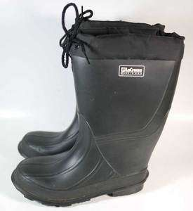 LaCrosse Rubber Insulated Rain Snow Boots 3 Youth USA