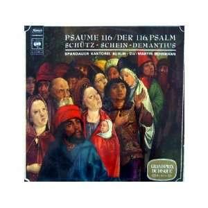 . Psalm   Schütz   Schein   Demantius   Spandauer Kantore Music