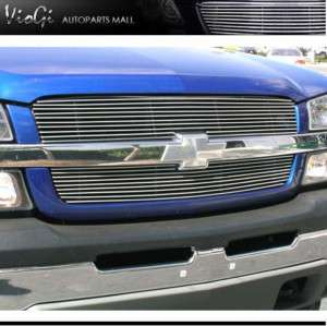 02 06 Chevy Avalanche W/O Cladding Upper Billet Grille