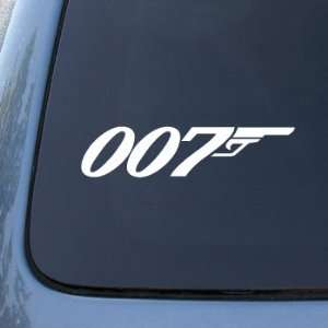 007   JAMES BOND   Vinyl Car Decal Sticker #1763  Vinyl