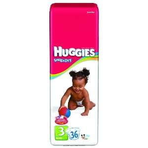 Huggies Snug & Dry Disposable Diapers, Huggies Snug N Dry Disp Sz3, (1