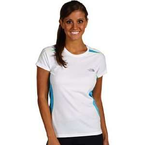 The North Face GTD Crew for Women Small White/Blitz Blue