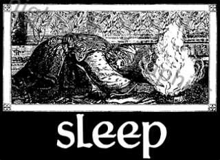 SLEEP BLACK SHIRT #3 OFFICIAL jerusalem holy mountain high on fire