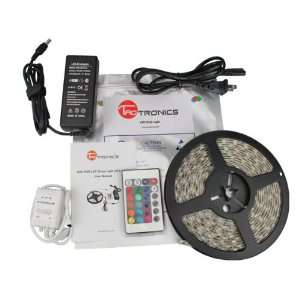 LED Lighting Strip Kit RGB 16.4ft, 2038kit Patio, Lawn & Garden