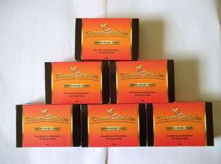 Lot of 6 Diana Stalder Papaya Kojic Whitening Soap