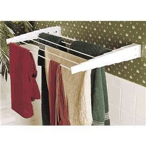 Ikea Wall Mounted Clothes Drying Laundry Rack Adjustable