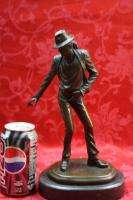 Art Deco Collector Bronze Sculpture Statue Figure Michael Jackson