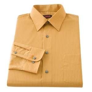 Garcia Mens Tonal Stripe Dress Shirt~DifColor~$42~NWT
